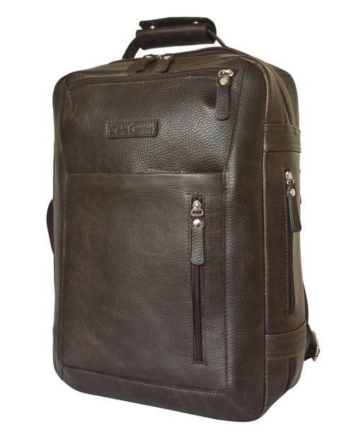 Кожаный рюкзак Chatillon brown (арт. 3072-04)
