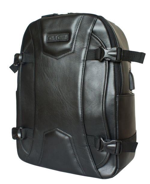 Кожаный рюкзак Falcone black (арт. 3074-01)