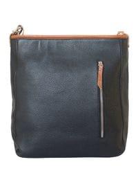 Кожаная женская сумка Adelfia black (арт. 8004-01)