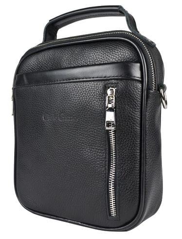 Кожаная мужская сумка Cavallaro black (арт. 5049-01)