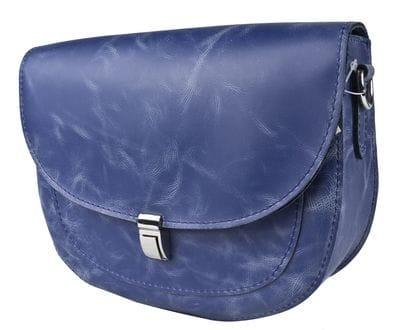 Кожаная женская сумка Amendola blue (арт. 8003-07)