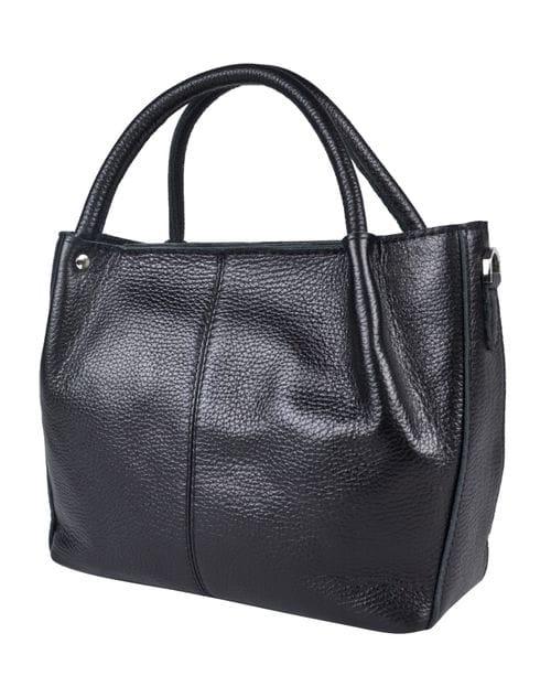 Кожаная женская сумка Bruna black (арт. 8027-01)