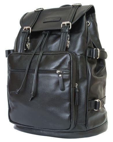 Кожаный рюкзак Volturno black (арт. 3004-05)