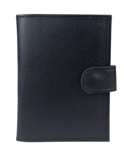 Кожаная документница Avello black (арт. 7424-01)