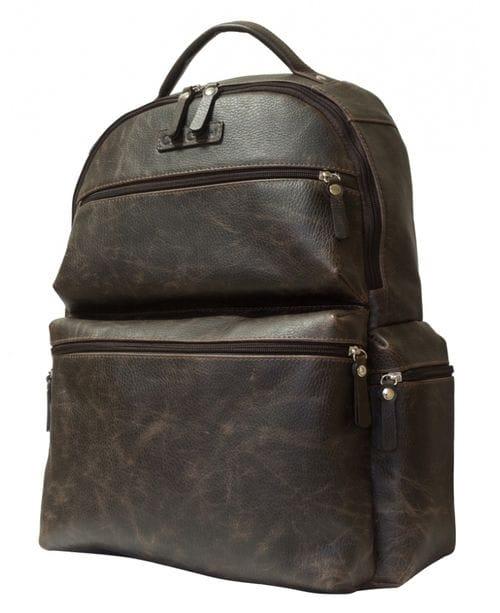 Кожаный рюкзак Faetano brown (арт. 3047-04)