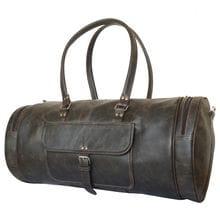 Кожаная дорожная сумка Belforte brown (арт. 4011-04)