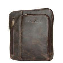 Кожаная мужская сумка Casella brown (арт. 5020-02)