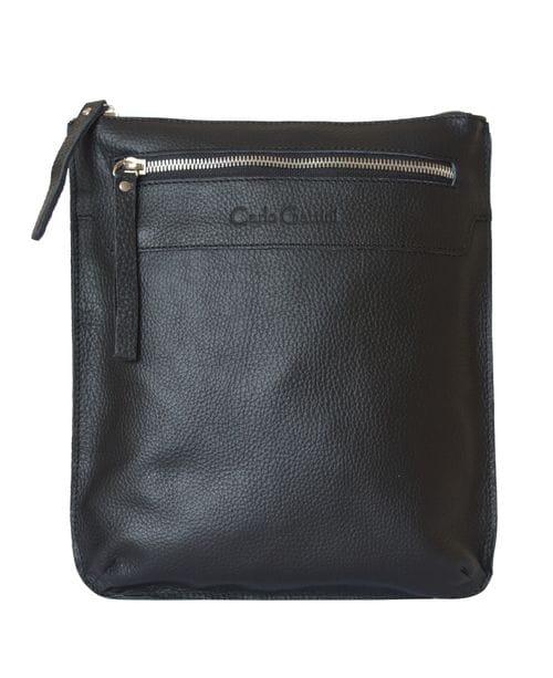 Кожаная мужская сумка Saltara black (арт. 5021-01)