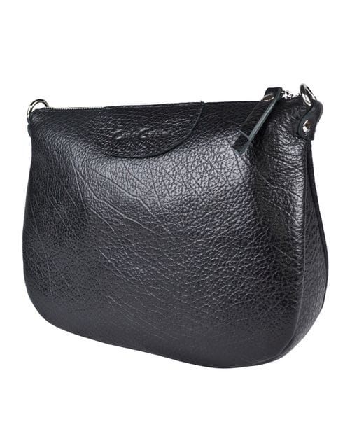 Кожаная женская сумка Ponna black (арт. 8039-01)