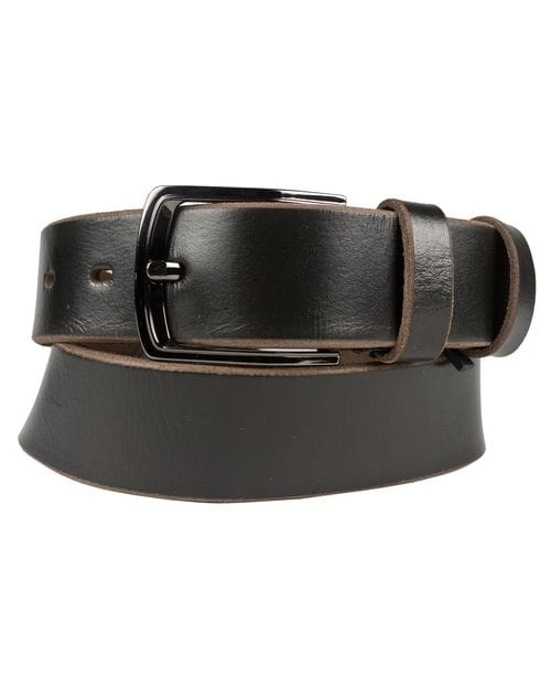 Кожаный ремень Renaro black (арт. 9009-05)