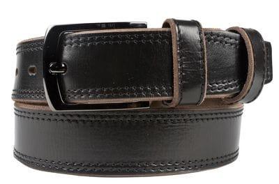 Кожаный ремень Casalino black (арт. 9031-01)