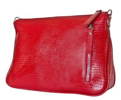 Кожаная женская сумка Lavello red (арт. 8005-09)