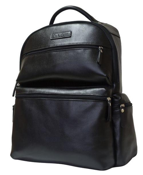Кожаный рюкзак Faetano black (арт. 3047-01)