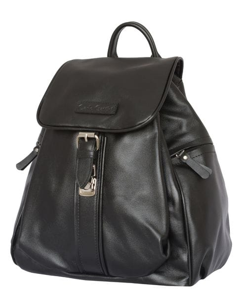 Женский кожаный рюкзак Aventino black (арт. 3008-01)