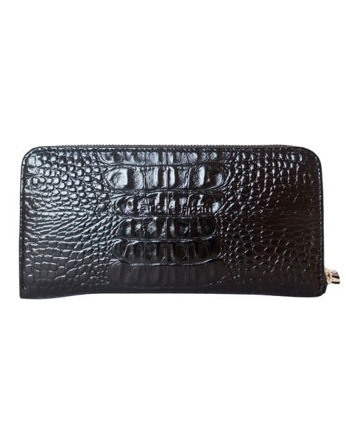 Кожаный кошелек Artena black (арт. 7701-91)