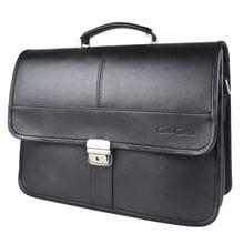 Кожаный портфель Monterado black (арт. 2031-01)