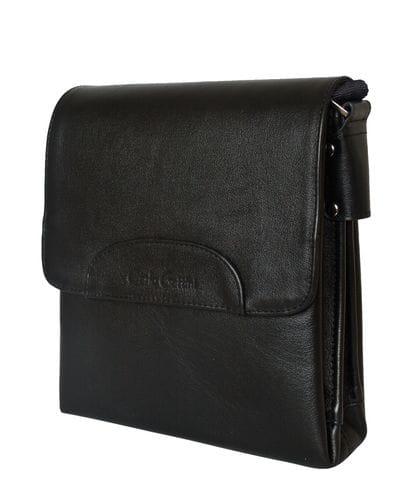 Кожаная мужская сумка Moretta black (арт. 5040-01)
