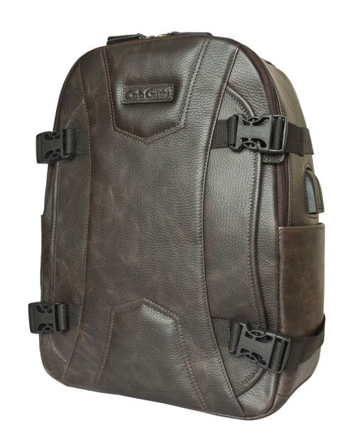 Кожаный рюкзак Falcone brown (арт. 3074-04)