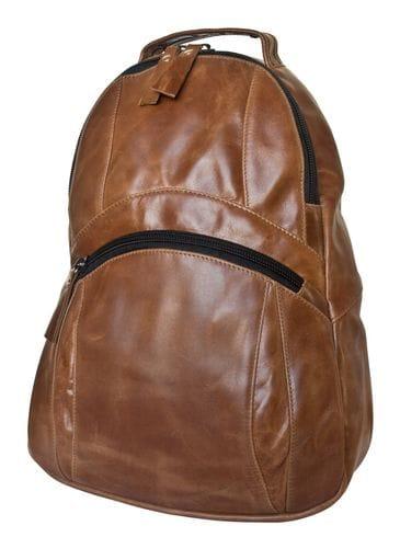 Кожаный рюкзак Fontanedo cognac (арт. 3057-03)
