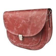 Кожаная женская сумка Amendola red (арт. 8003-08)