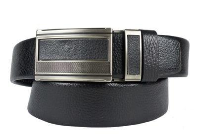 Кожаный ремень Moriano black (арт. 9001-01)