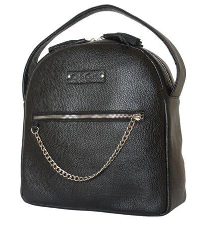 Кожаный рюкзак Altidona black (арт. 3046-01)