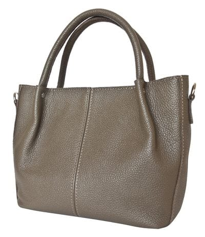 Кожаная женская сумка Bruna cappuccino (арт. 8027-04)