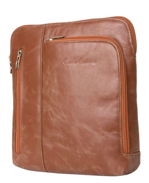 Кожаная мужская сумка Casella cognac (арт. 5020-03)