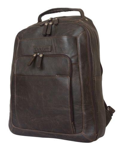 Кожаный рюкзак Monfestino brown (арт. 3034-04)