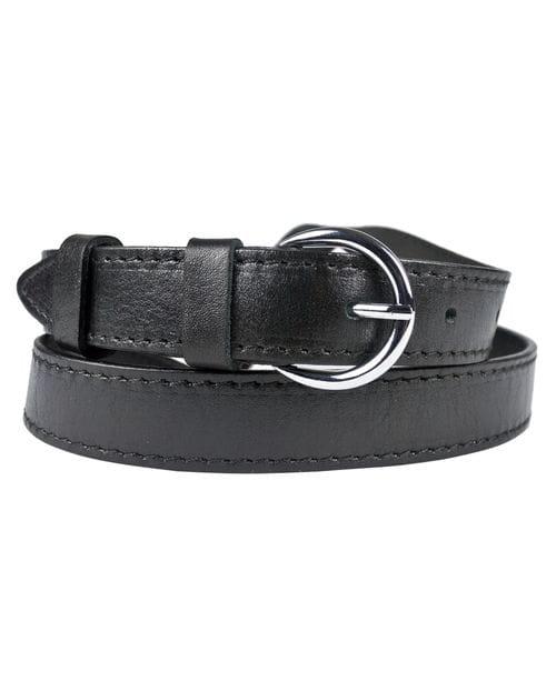 Кожаный ремень Fiano black (арт. 9018-01)