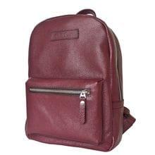 Женский кожаный рюкзак Anzolla bordo (арт. 3040-09)