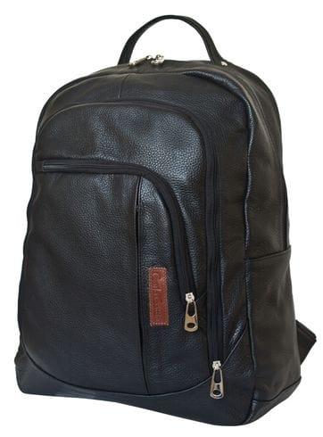 Кожаный рюкзак Marsano black (арт. 3050-01)
