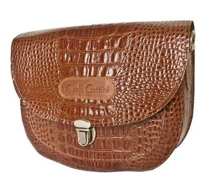 Кожаная женская сумка Amendola brown (арт. 8003-03)