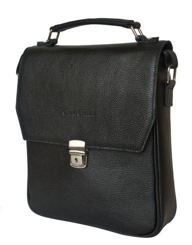 Кожаная мужская сумка Rovetta black (арт. 5042-01)