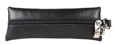 Кожаная ключница Grata black (арт. 7106-01)