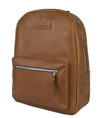 Женский кожаный рюкзак Anzolla brown (арт. 3040-16)