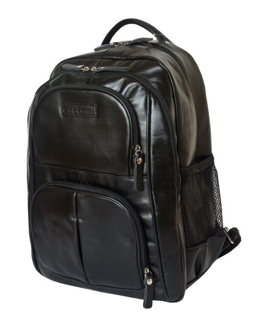 Кожаный рюкзак Rivarolo black (арт. 3071-01)