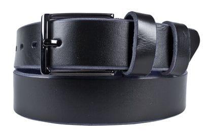 Кожаный ремень Beano black (арт. 9041-01)