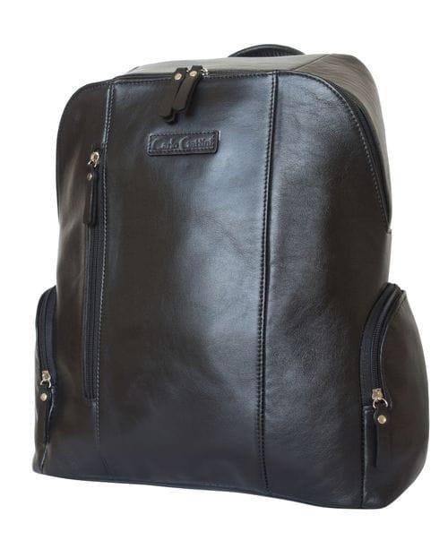 Кожаный рюкзак Versola black (арт. 3042-01)