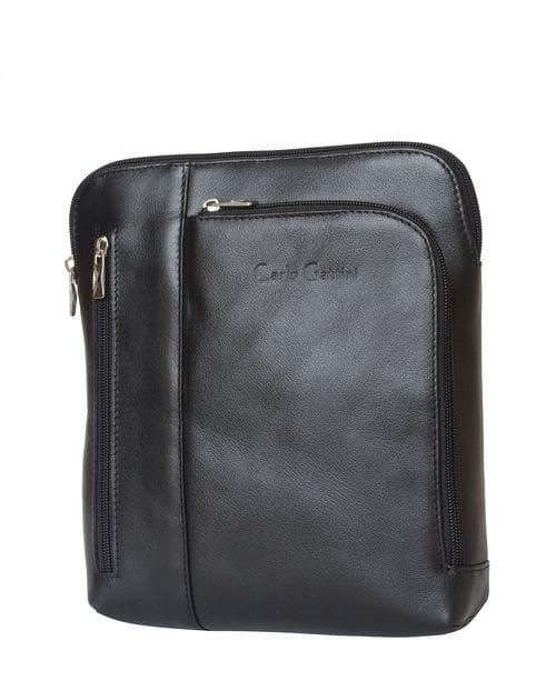 Кожаная мужская сумка Casella black (арт. 5020-01)