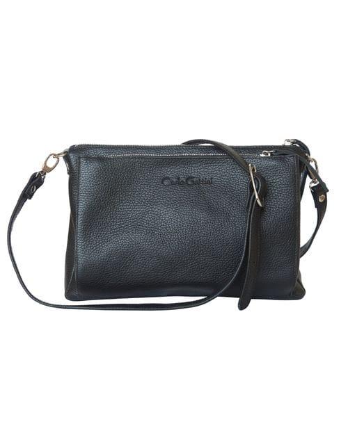Кожаная женская сумка Arenara black (арт. 8002-01)