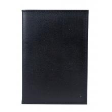 Кожаная документница Lauro black (арт. 7425-01)