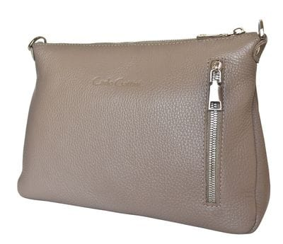 Кожаная женская сумка Lavello cappuccino (арт. 8005-04)