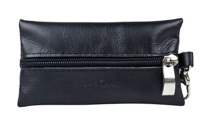 Кожаная ключница Salta black (арт. 7109-01)