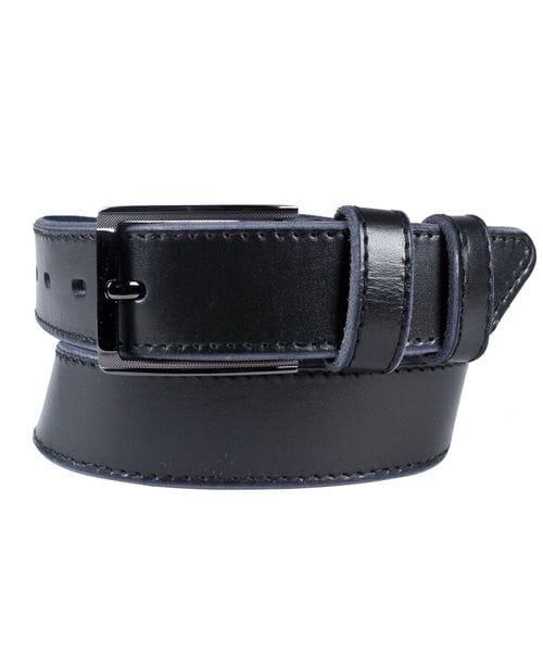 Кожаный ремень Cintello black (арт. 9042-01)