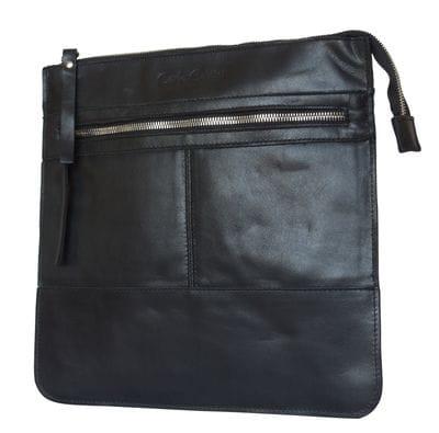 Кожаная мужская сумка Valbona black (арт. 5022-05)