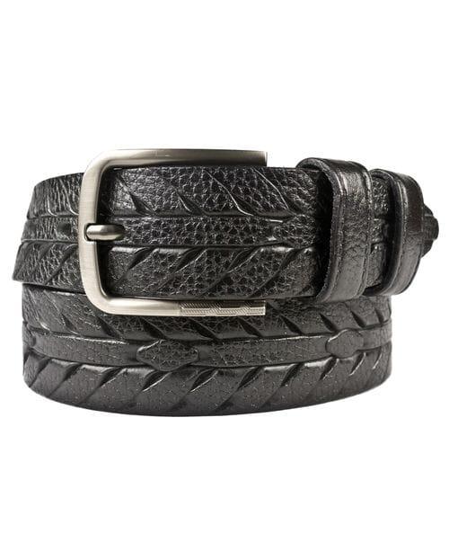 Кожаный ремень Fornole black (арт. 9048-01)