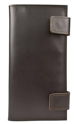 Кожаный холдер / клатч Arre brown (арт. 5063-04)