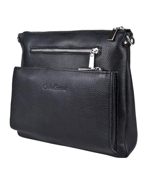 Кожаная женская сумка Vigliano black (арт. 8031-01)