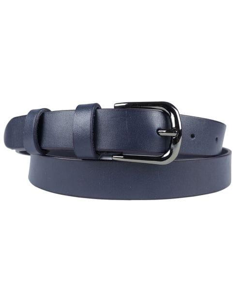 Кожаный ремень Avendita dark blue (арт. 9019-19)